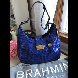 Brahmin Purse Bag Tote Alligator